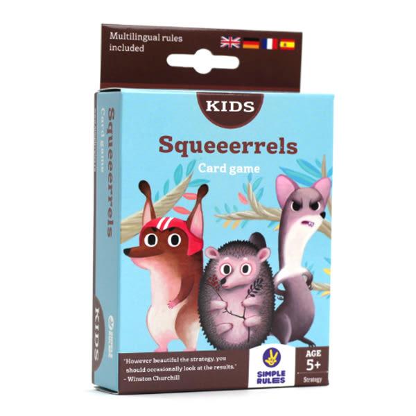 【樂桌遊】俄羅斯 SIMPLE RULES - 松鼠取堅果 Squeerreies OPSQ1701