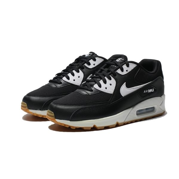 NIKE W AIR MAX 90 LE 黑白 復古 休閒鞋 女 (布魯克林) 325213-055 | 慢跑鞋 |