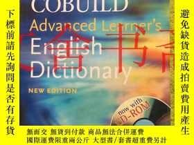 二手書博民逛書店Collins罕見COBUILD ADVANCED LEARNERS ENGLISH DICTIONARY New