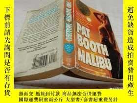 二手書博民逛書店PAT罕見BOOTH MALIBU(帕特布斯馬裏布)Y200392