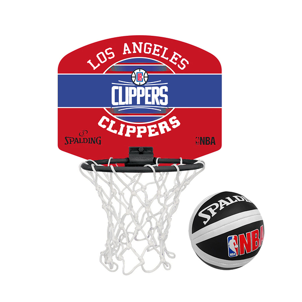 SPALDING 18 小籃板-快艇 CLIPPERS(親子 籃框 NBA 斯伯丁≡體院≡ SPA77652_1