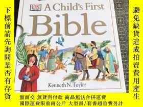 二手書博民逛書店Child s罕見First Bible【實物拍照 】Y4224 Kenneth N Taylor 著 DK