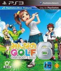 PS3全民高爾夫 6 亞洲中英文合版(支援MOVE)