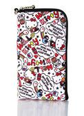 [富廉網] Hello Kitty SKS-310 仕女型多層式手機袋KT-多彩