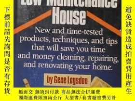 二手書博民逛書店英文原版罕見The Low-Maintenance House