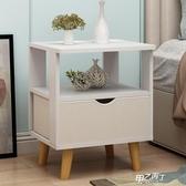 床頭櫃 簡易床頭柜收納柜多功能經濟型臥室床邊小柜簡約迷你宿舍儲物柜子【降價兩天】