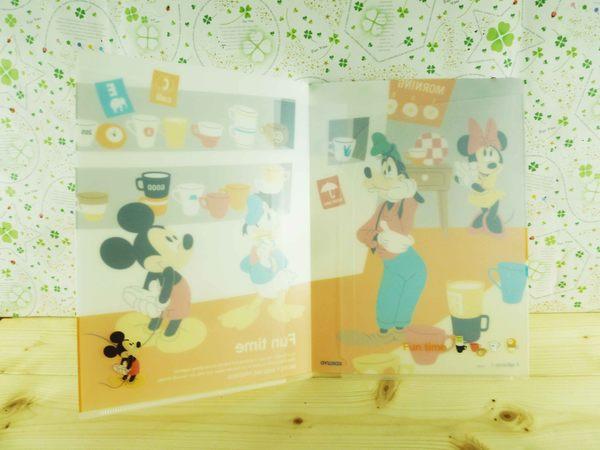 【震撼精品百貨】Micky Mouse_米奇/米妮 ~A5掀開文件夾-杯子