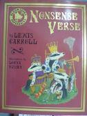 【書寶二手書T4/原文書_PIZ】Nonsense Verse_Lewis Carroll
