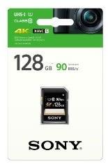 [富廉網] SONY 128GB SDHC UHS-1 C10記憶卡 (SF-UY3)