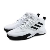 adidas OWNTHEGAME K WIDE 籃球鞋 運動鞋 白色 大童 童鞋 EF0310 no733