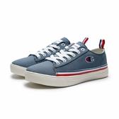 CHAMPION 湖水藍 白藍紅 條紋 帆布鞋 休閒鞋  女(布魯克林) 912220193