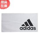 【現貨】ADIDAS TOWEL S 毛巾 浴巾 雙面 純棉 白 黑【運動世界】DH2862