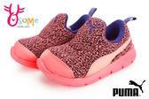 PUMA運動鞋 小童休閒鞋 Bao 3 Warm lnf 直接套輕便鞋J9502#橘◆OSOME奧森童鞋/小朋友