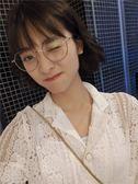 鏡架 200度眼鏡框女成品有度數韓國潮眼睛300度男學生大臉500度