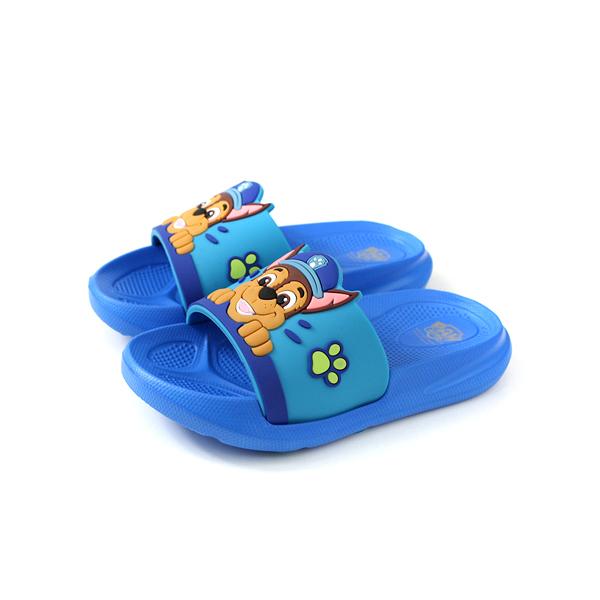 PAW PATROL 拖鞋 防水 雨天 藍色 中童 童鞋 D94705-550 no010