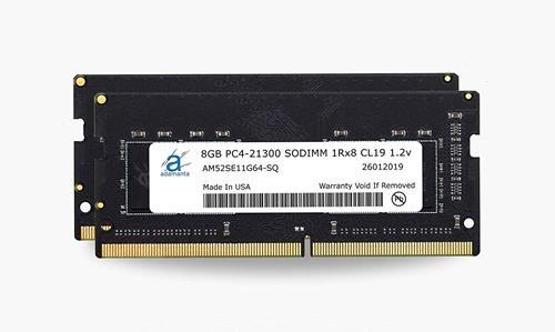 Adamanta 16GB(2x8GB)記憶體升級 2019 Apple iMac 27吋Retina 5K顯示器