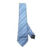 LOUIS VUITTON LV 路易威登 藍色絲質Monogram緹花圖案領帶 Tie 【BRAND OFF】