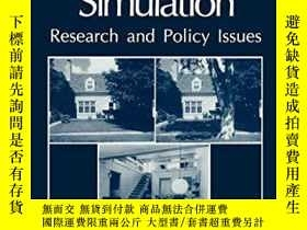 二手書博民逛書店Environmental罕見Simulation: Research And Policy IssuesY3