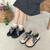 洛麗塔鞋子可愛秋百搭圓頭單鞋軟妹小皮鞋【不二雜貨】