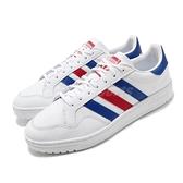 adidas 休閒鞋 Team Court 白 藍 紅 男鞋 運動鞋 基本款 【ACS】 FW5068