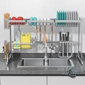 廚房水槽架瀝水架碗碟架洗碗架刀架菜板架【邻家小鎮】