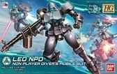 鋼彈模型 HGBD 1/144 NPD里歐 創鬥者潛網大戰 W LEO TOYeGO 玩具e哥