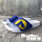 AIR WALK 白藍黃 IKEA配色  橡膠  男女 情侶鞋  (布魯克林) 2018/7月 A511220-204