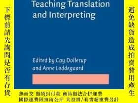 二手書博民逛書店Teaching罕見Translation And Interp