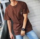 FINDSENSE MD 韓國 潮 男 時尚 街頭 鸚鵡椰樹刺繡 短袖T恤 特色