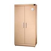 【分期零利率】防潮家 SH-540 快速除濕型木質防潮櫃/鞋櫃/名牌包櫃 (白橡木) 480公升