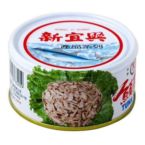 新宜興 鮪魚片 180g