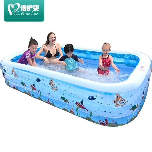 兒童充氣家庭成人加厚超大號泳池xx1616 【VIKI菈菈】