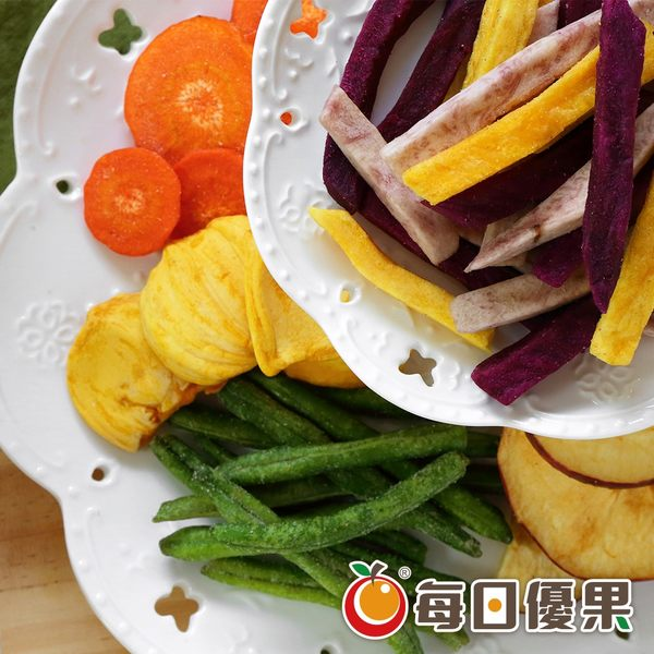 綜合蔬果脆片160G 每日優果
