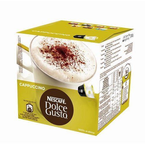 雀巢DOLCE GUSTO卡布奇諾咖啡膠囊16顆入