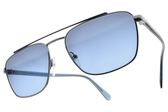 PRADA 太陽眼鏡 SPR61U SWW-251 (槍透藍-藍鏡片) 率性俐落飛官款 墨鏡 # 金橘眼鏡