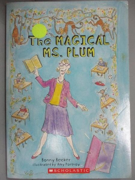 【書寶二手書T8/原文小說_KBX】Magical Ms. Plum, The_Bonny Becker