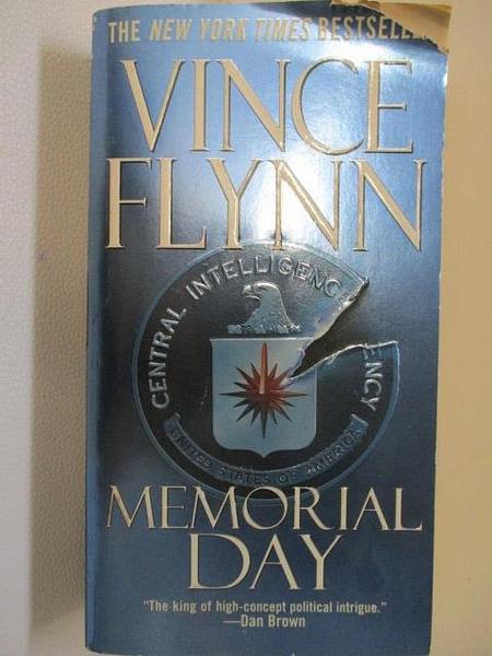 【書寶二手書T1/原文小說_BOP】Memorial Day_Vince Flynn
