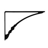 裝飾型板托6.5 *9 黑色一入 適用層板 深20公分