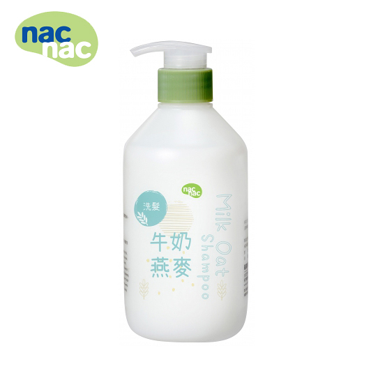 【愛吾兒】Nac Nac 牛奶燕麥洗髮乳680ml
