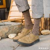 襪子男秋冬季商務襪防臭吸汗透氣男士中筒襪簡約棉質男襪紳士長襪 耶誕交換禮物