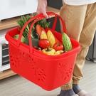 家用塑料野餐手提籃