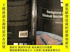 二手書博民逛書店Religions罕見in Global Society,200