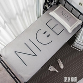冰絲席涼席可折疊宿舍架子床單人寢室卡通涼感席子夏季 zh2293『東京潮流』