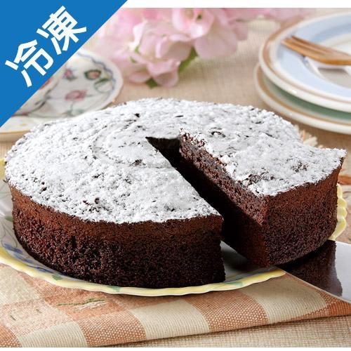 【聚餐首選】6吋濃郁布朗尼蛋糕/盒【愛買冷凍】
