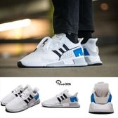 adidas 休閒鞋 EQT Cushion ADV 白 黑 藍 慢跑鞋 男鞋 運動鞋 【PUMP306】 CQ2379