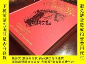 二手書博民逛書店【罕見】但丁的作品《神曲:地獄,煉獄,天堂》古斯塔夫的板畫插圖