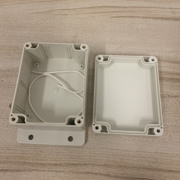 防水接線盒F型防水盒室外監控盒戶外防水接線盒塑膠端子密封開關盒(777-12753)