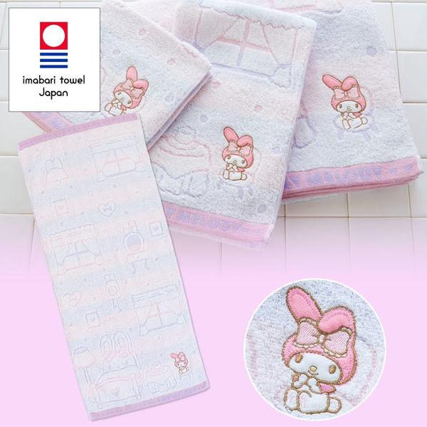 日本美樂蒂毛巾長方巾刺繡坐椅316146通販屋