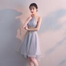 派對小禮服女2019新款洋裝宴會名媛小香風性感短款聚會顯瘦連身裙Mandyc