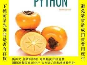 二手書博民逛書店Starting罕見Out With Python (4th Edition)Y255562 Tony Gad